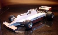 1:20 Ferrari 126CK Spain GP Full detail Multi-Media Model Kit