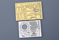 1:20 Ferrari F2012 Malaysia GP Photoetched Detail up Set (Fujimi)