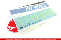 1:20 Formula 1 Pirelli Yellow Tyre Decals