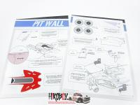 1:20 Haas VF-18 Transkit for SF70H