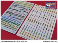 1:20 Harness Manufacture Decals/Stickers