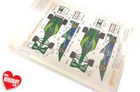 1:20 Jordan 191 1991 Belgium/Japan Decals for Tamiya