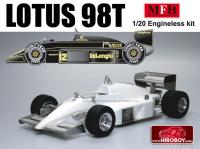 1:20 Lotus 98T  Curbside Multi-Media Model Kit