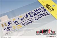 1:20 Lotus 99TB Japan GP 1997 Camel Sponsor Decals for Tamiya
