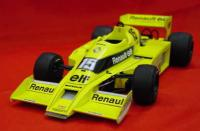 1:20 Renault RS01 78 Full detail Multi-Media Model Kit