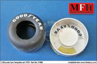 1:20 Tyre Painting Template for 1970 Goodyear - P988