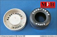1:20 Tyre Painting Template for 1980 Goodyear - P989