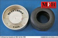 1:20 Tyre Painting Template for 1990 Goodyear - P990