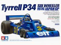 1:20 Tyrrell P34 Six Wheeler 1976 Japan GP (c/w Photoetched)  20058