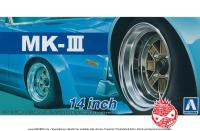 "1:24 14"" SSR Mk3 (MK-III) Speed Star Wheels and Tyres"