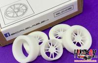 "1:24 19"" NK-1 Wheels and Resin Tyres"