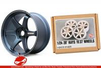 "1:24 20"" Rays Volk Racing TE37 Resin Wheels"