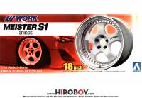 "1:24 18"" Work Meister S1 Wheels and Tyres"