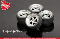 "1:24 19"" Rotiform TMB Wheels and Tyres"