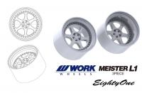 "1:24 19"" Work Meister L1 Wheels and Tyres"
