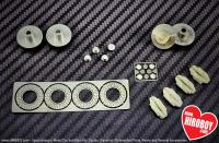 "1:24 21"" Luchese Wheel and Tyres Set"