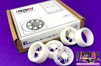 "1:24 21"" Audi RS Wheels and Resin Tyres"