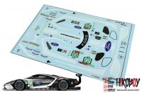 1:24 #66 Ford GT Le Mans Decals