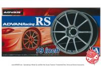 "1:24 Advan Racing RS 19"" Wheels and Tyres"