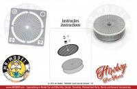 1:24 Air Cleaner/Filters 14x4.5mm + PE style 4
