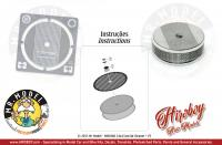 1:24 Air Cleaner/Filters 14x4.5mm + PE style 1