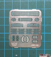 1:24 VW Beetle Grill Set (Photoetched)