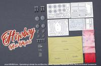 1:24 Alfa Romeo 155 V6 TI Detail-up Set (Tamiya) (PE+Metal parts+Resin)