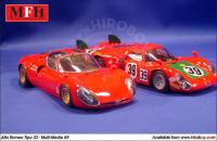 1:24 Alfa Romeo Tipo 33 '67 Targa Florio #192#170#200 Multi-Media Model Kit