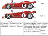 1:24 Alfa Romeo Tipo 33 Tipo33/3 Late Type A Multi-Media Model Kit
