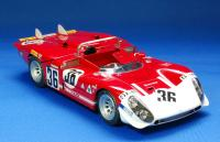 1:24 Alfa Romeo Tipo 33 Tipo33/3 Short Tail Multi-Media Model Kit