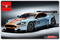 "1:24 Aston Martin DBR9 2008LM ""Gulf"" Multi-Media Model Kit"