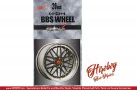 "1:24 BBS 20"" Wheels and Tyres"