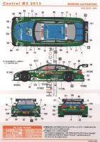 1:24 BMW M3 DTM Castrol M3 2013 Decals (Revell)