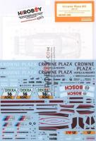 1:24 BMW M3 DTM Crowne Plaza M3 2013 Decals (Revell)