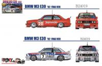 1:24 BMW M3 E30 1992 Sport Evolution II (Jagermeister/Fina Decals)
