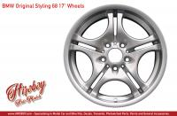 "1:24 Borbet A 17"" Wheels with Tyres"