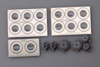 1:24 Brembo Brake System 1 (4 Piston Caliper And 355mm Disc) (Resin+Photoetched)