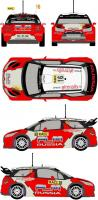 1:24 Citroen DS3 WRC #16 Rally RACC Catalunya 2011 Decals (Heller)