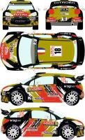 1:24 Citroen DS3 WRC #18 Rally Montecarlo 2015