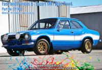 1:24 Fast and Furious 6 Ford Escort Mk 1 Decals