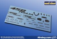 1:24 Ferrari 458 Italia Metal Decals