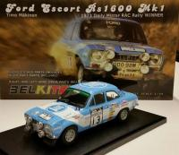 1:24 Ford Escort RS1600 MK1 Winner Daily Mirror RAC Rally 1973  (Belkits)
