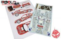 "1:24 Ford Escort RS Cosworth WRC ""Bastos"" Ypres Rally 1998 Decals"