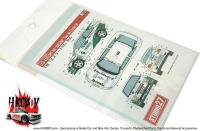 "1:24 Ford Escort RS ""Giesse"" Rally Tour De Corse 1994 Decals"