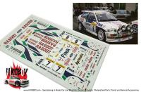 "1:24 Ford Escort RS ""Fina/Aprimatic"" Rally Monte Carlo 1995 Decals"