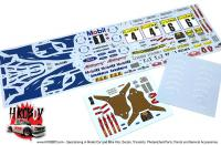 1:24 Ford Escort RS Cosworth Monte Carlo Rally 1994 Decals