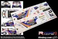 1:24 Ford Fiesta S2000 #32 Rally Montecarlo 2012 Decals (Belkits)