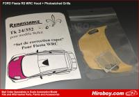 1:24 Ford Fiesta WRC Bonnet Correction Resin Part (Belkit)
