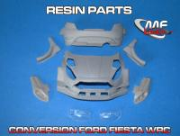 1:24 Ford Fiesta WRC - Conversion without decal (resin parts + P/E) Transkit