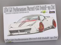 1:24 LB Performance Ferrari 458 Detail up Transkit